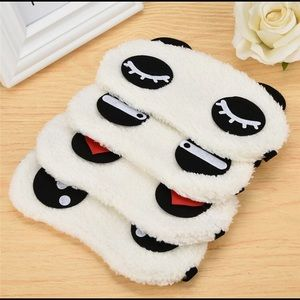 Accessories - 🐼Cute Face White Panda Eye mask😍